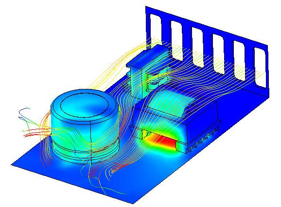Thermal Analysis of a Power Supply